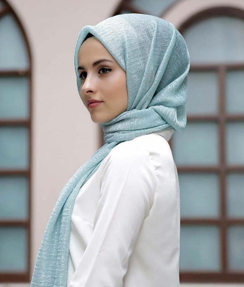 Как завязать платок по-мусульмански?